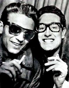 Waylon Jennings & Buddy Holly, 1959