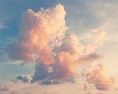 Wallpaper SKY: Vinyl Fototapete Sonniger Himmel Hintergrund im Vintage-Retro-Stil - Entspannung Wallpaper Sky, Aesthetic Iphone Wallpaper, Aesthetic Wallpapers, Wallpaper Murals, Sky Aesthetic, Aesthetic Images, Pretty Sky, Beautiful Sky, Sky Painting