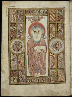 St. Gall Gospels Cod.Sang.51 - p.208 - Saint John - St. Gall Gospel Book - Wikipedia