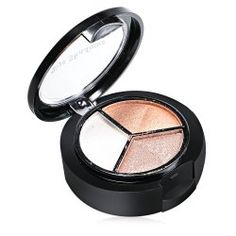 Cosmetic Makeup Neutral 3 Warm Color Eye Shadow with Mirror Brush (03#) | Sammydress.com Mobile