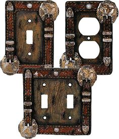 Western Belt Switch Plates & Outlet Covers