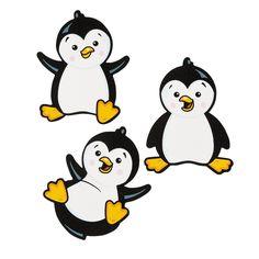 Penguin Bulletin Board  Cutouts - OrientalTrading.com