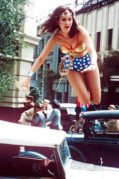 Lynda Carter as Wonder Woman, c.1970s