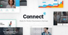 Connect - A Smart Theme for Modern Businesses and Startups - Business Corporate