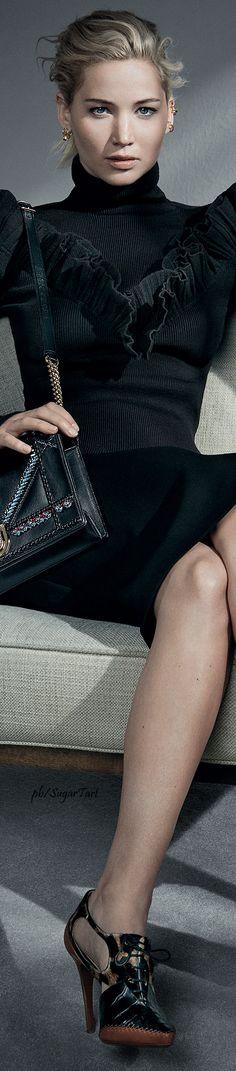 Jennifer Lawrence for Dior More