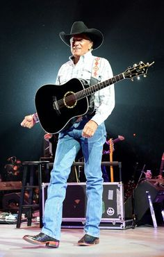 George Strait - The King of Country Music!!!