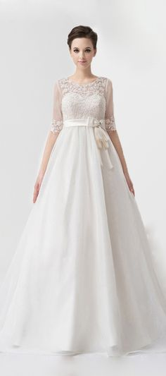 Charming Two-way Wearing Lace Wedding Dress