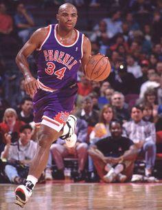 Charles Barkley on the Phoenix Suns.