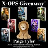 Signed Copies of the First Seven Books in Paige Tylers X-OPS Series and a Plush Lion Giveaway  Open to: United States Ending on: 05/02/2018 Enter for a chance to win signed copies of the first seven books in Paige Tylers X-OPS Series and a plush lion. Enter this Giveaway at Paige Tyler  Enter the Signed Copies of the First Seven Books in Paige Tylers X-OPS Series and a Plush Lion Giveaway on Giveaway Promote.