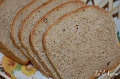 Paine din faina integrala - LaLena.ro Cake Tray, Cake Pans, Sweet Bread, Bread Baking, Bread Recipes, Tasty, Healthy Recipes, Cooking, Pretzels