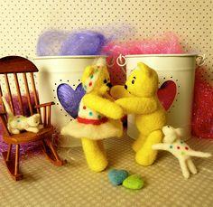 Bear hug! Teddy Bears, Hug, Dinosaur Stuffed Animal, Toys, Animals, Activity Toys, Animales, Animaux, Clearance Toys