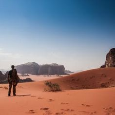 Check this awesome view of Wadi Rum on I Love Climbing