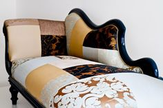 Chaise lounge patchwork