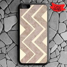 Landscape Chevron iPhone 6 Plus iPhone 6S Plus Black Case