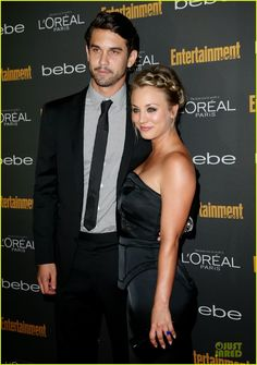 Celeb Diary: Kaley Cuoco & Ryan Sweeting @ Entertainment Weekly's Pre-Emmy Party