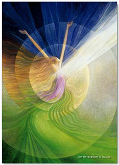 Just For A Moment, Joy, from the Journey Of Love Oracle Card deck, by Alana Fairchild, Artwork by Rassouli and Richard Cohn Sacred Feminine, Divine Feminine, Feminine Energy, Love Oracle, Illustrator, Dream Symbols, Angel Cards, Oracle Cards, Pics Art