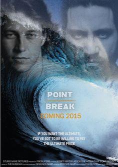 Point Break (2015) Stars: Teresa Palmer, Luke Bracey, Ray Winstone, Édgar Ramírez, James Le Gros