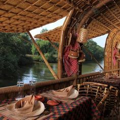 Overnight Houseboat in Mandovi River with Dine - Goa Goa Travel, Houseboat Living, Best Boats, Canal Boat, Pontoon Boat, Boat Tours, Weekend Trips, Rustic Design, Continents