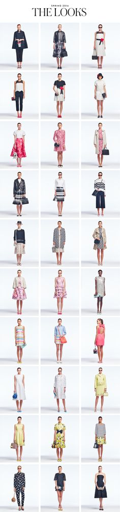 kate spade new york / SPRING 2016 THE LOOKS