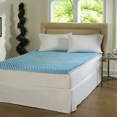 Mattress Topper Bedding Bed Fitted Queen 3 inch King Memory Foam Twin Full Sizes
