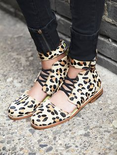 Love+Made by Solestruck Linda Love Lace Up Flat at Free People Clothing Boutique