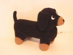 Free Dachshund Amigurumi Crochet Pattern