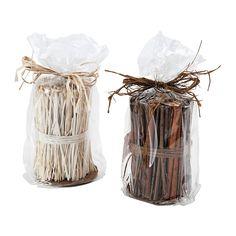 Os ramos são uma ótima decoração e proporcionam um perfume agradável à sua casa. ---------------------------------------------------------- Ou recriar este arranjo com paus de canela.