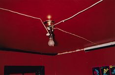 Untitled (Greenwood, Mississippi), Photograph and dye-transfer print by William Eggleston. From At War with the Obvious, Metropolitan Museum of Art, Accession © Eggleston Artistic Trust.