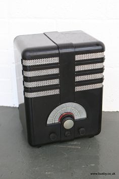 A Vintage Bakelite Radio
