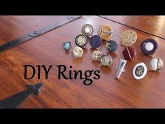 DIY Rings--easy & cool for teens