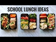 This video has recipes for THREE NEW vegan lunch ideas! If you are looking for…