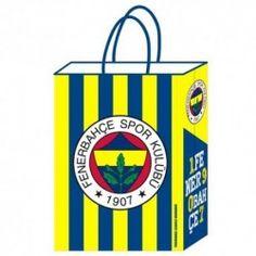 12 Adet Fenerbahçe Temalı Kağıt Çanta
