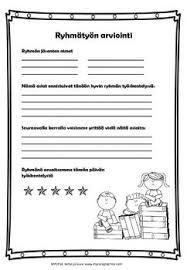 Ryhmätyön arviointia (in Finnish) by Maria Pernu Student Self Assessment, Formative Assessment, Parent Teacher Conferences, Teacher Notes, Teaching Schools, Teaching Social Studies, Study Skills, Group Work, Parents As Teachers