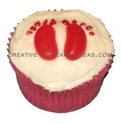 Baby Shower  cupcake :)