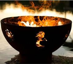 Image Result For Steel Bowls For Fire Pitsa