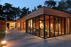 Stunning shipping container home. Design and build your own container home. Read the full article on http://www.thediyhubby.com/how-to-build-a-container-home/  #shipping #container #home