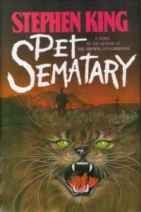 My fav. Stephen King book - Pet Sematary..It has also a well-adapted movie myinnerisland