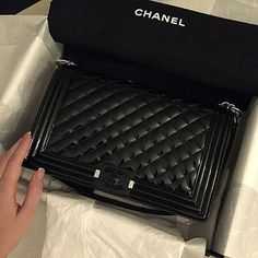 Image via We Heart It #bag #beauty #black #chanel #fashion #follow #instagram