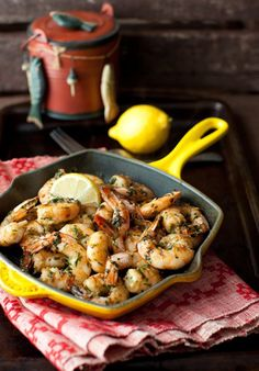 Sizzling Spicy Garlic Shrimp