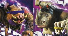 'TMNT 2' Poster: Bebop & Rocksteady Are Mean on the Scene -- Bebop and Rocksteady show their brute force in a new poster for 'Teenage Mutant Ninja Turtles: Out of the Shadows'. -- http://movieweb.com/teenage-mutant-ninja-turtles-2-poster-bebop-rocksteady/