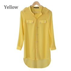 Find More Blouses & Shirts Information about Women Camisas Plus Size 4XL tropical Cardigans roupas Chiffon Shirt blusas femininas Long Blouses Shirts Fishtail Solid Colour,High Quality shirt summer,China top shirt Suppliers, Cheap top cotton from Hengyi Fashion Store--Wholesaler&Retailer on Aliexpress.com