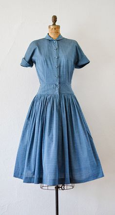 vintage 1950s PIED A TERRE dress from Adored Vintage #1950s #50svintage