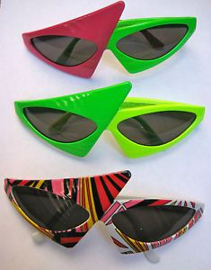 80s new wave sunglasses.  I had a red and white pair... I was so TRENDY