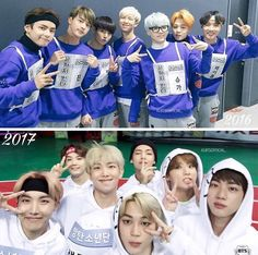 BTS ISAC 2016 and 2017