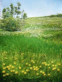 My Sweet Prairie: Threadpainting - Loving Every Stitch  beautiful.