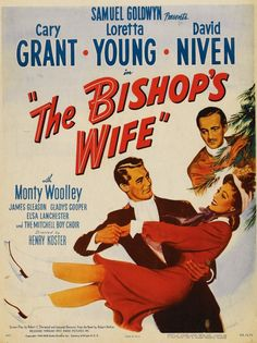 A Christmas movie favorite starring Cary Grant as Dudley, an angel. What's not to love here?