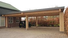 BLOK meubel | massief eiken carport