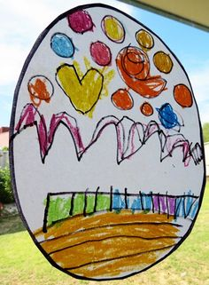 Kids Art Ideas: Stained Glass Effect Drawings   Childhood101