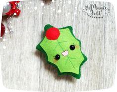 Christbaumkugel, Filz Mistel Mistel Weihnachten Baumschmuck Weihnachten Filz Ornamente, ornament Cute Weihnachten Spielzeug für Adventskalender