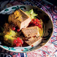 Foie gras de #pato com #pimenta e #champagne rougié. #gourmetmagazine